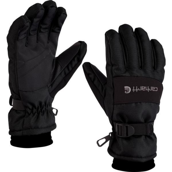 カーハート Carhartt メンズ 手袋・グローブ wp gloves Black|fermart2-store