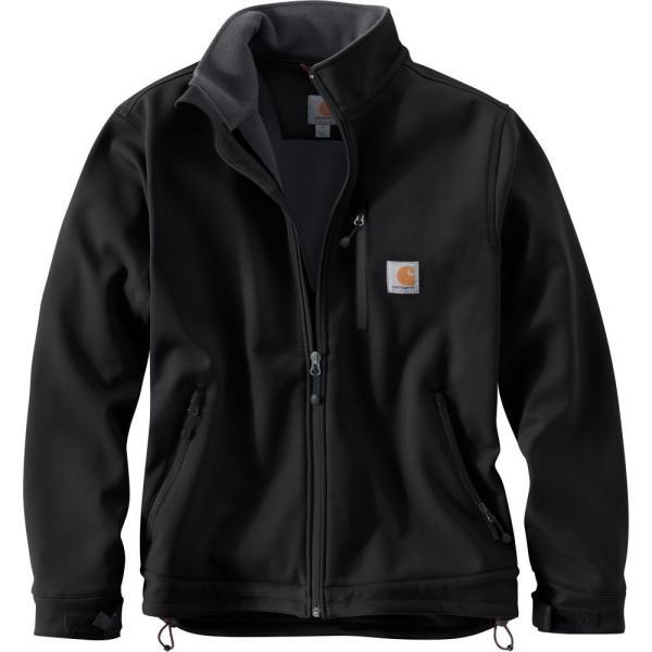 カーハート Carhartt メンズ ジャケット ソフトシェルジャケット アウター crowley softshell jacket Black|fermart2-store|02