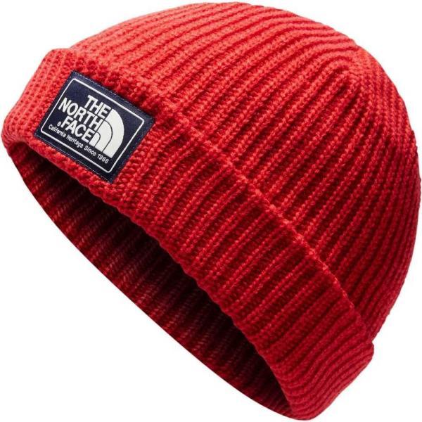 ザ ノースフェイス The North Face メンズ ニット 帽子 salty dog beanie TNF Red/Rage Red|fermart2-store