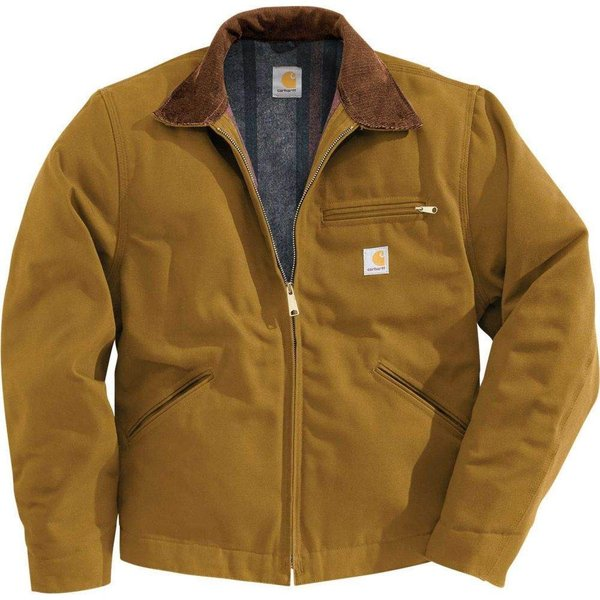 カーハート Carhartt メンズ ジャケット アウター duck detroit jacket Carhartt Brown|fermart2-store
