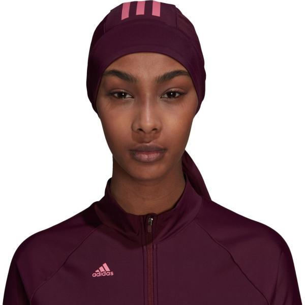 アディダス adidas レディース 水着・ビーチウェア Swim Headscarf Team Maroon/Rose Tone