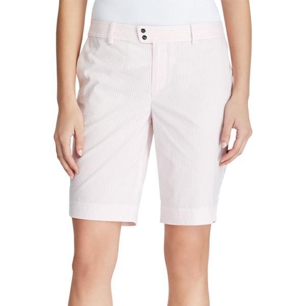 ラルフ ローレン RLX Golf レディース ゴルフ ショートパンツ ボトムス・パンツ Seersucker Par Golf Shorts Island Pink Seersucker