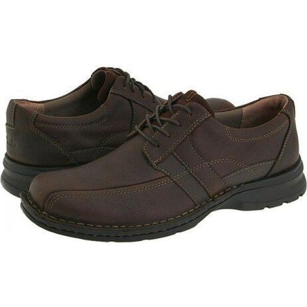 クラークス Clarks メンズ 革靴・ビジネスシューズ シューズ・靴 Espace Brown Oily Leather|fermart2-store