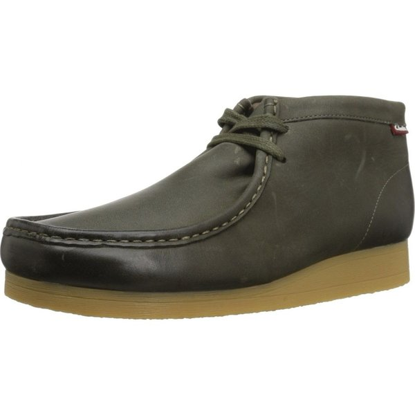 クラークス Clarks メンズ ブーツ シューズ・靴 Stinson Hi Dark Olive Leather|fermart2-store|02