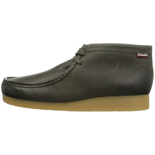 クラークス Clarks メンズ ブーツ シューズ・靴 Stinson Hi Dark Olive Leather|fermart2-store|05