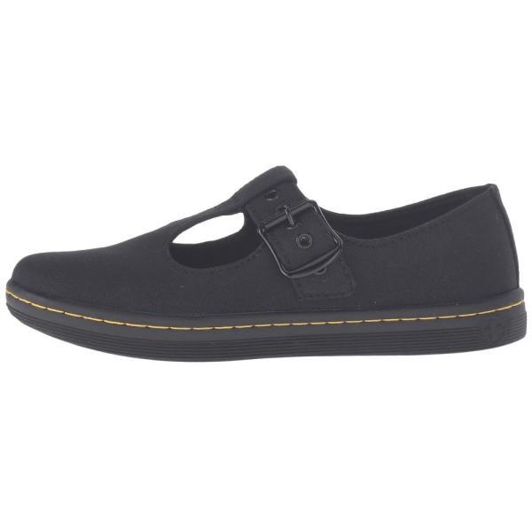 ドクターマーチン Dr. Martens レディース ローファー・オックスフォード シューズ・靴 Woolwich T Bar Black Canvas fermart2-store 05