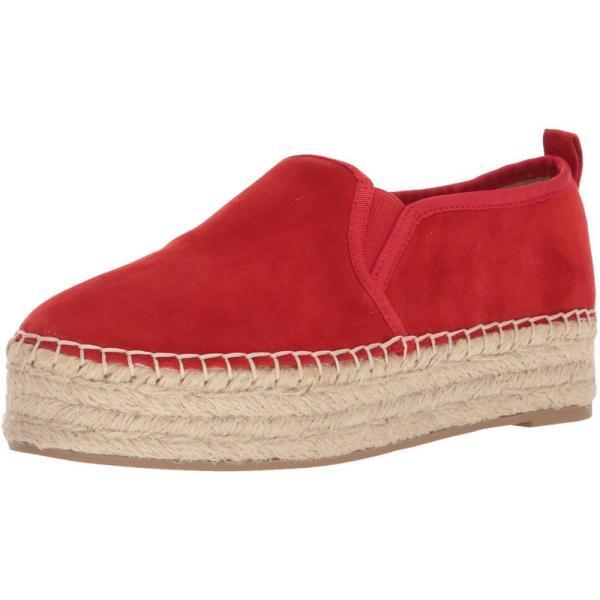 サム エデルマン Sam Edelman レディース エスパドリーユ シューズ・靴 Carrin Candy Red Kid Suede Leather