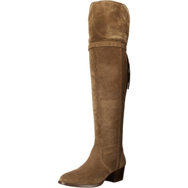 フライ レディース ブーツ シューズ・靴 Clara Tassel Over-The-Knee Cashew Oiled Suede