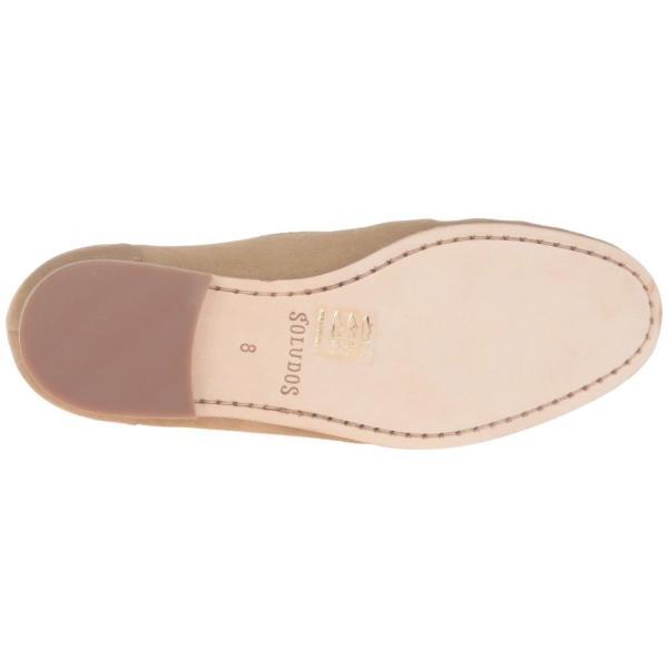 ソルドス Soludos レディース ローファー・オックスフォード シューズ・靴 Loafer Embroidered Stone Suede