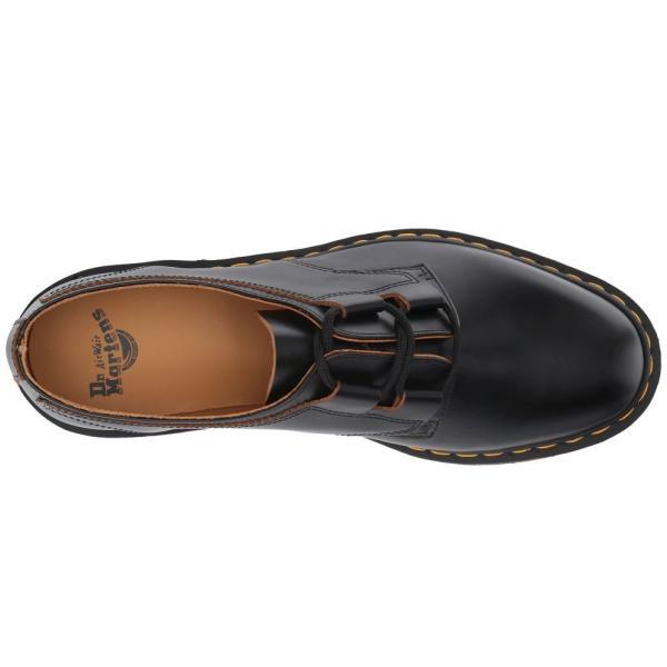 ドクターマーチン Dr. Martens レディース ローファー・オックスフォード シューズ・靴 1461 Ghillie Shoe Black Vintage Smooth|fermart2-store|03