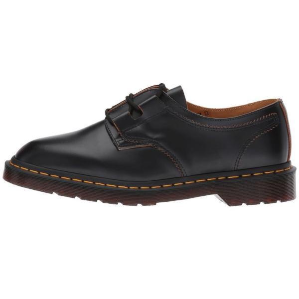 ドクターマーチン Dr. Martens レディース ローファー・オックスフォード シューズ・靴 1461 Ghillie Shoe Black Vintage Smooth|fermart2-store|05
