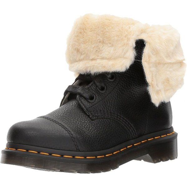 ドクターマーチン Dr. Martens レディース ブーツ シューズ・靴 Aimilita FL 9-Eye Toe Cap Boot Black Aunt Sally|fermart2-store|02