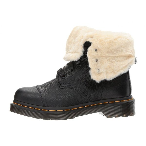 ドクターマーチン Dr. Martens レディース ブーツ シューズ・靴 Aimilita FL 9-Eye Toe Cap Boot Black Aunt Sally|fermart2-store|05