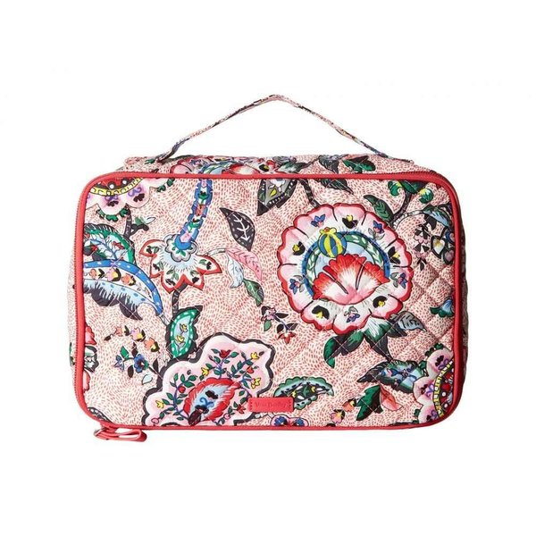 ヴェラ ブラッドリー Vera Bradley レディース ポーチ Iconic Large Blush & Brush Case Stitched Flowers