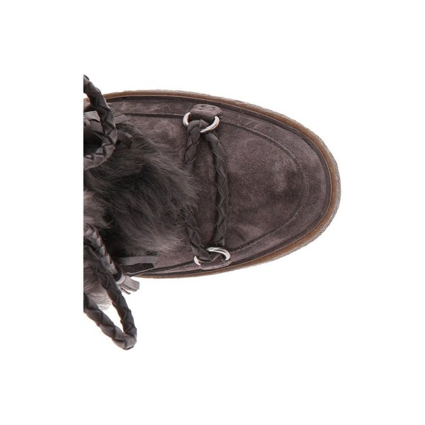 フライ Frye レディース ブーツ シューズ・靴 Gail Shearling Tall Smoke Waterproof Oiled Suede/Shearling
