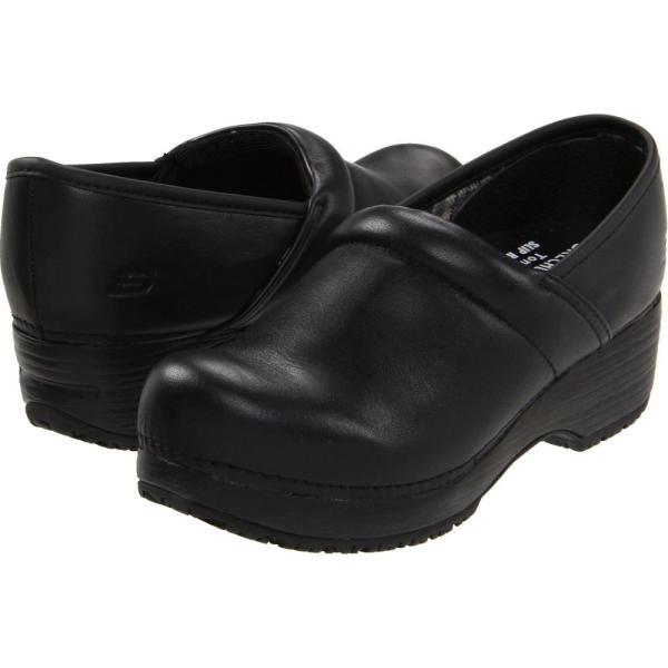 スケッチャーズ SKECHERS Work レディース クロッグ シューズ・靴 Clog SR Black