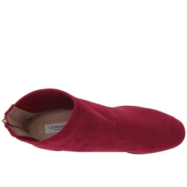 エルケーベネット L.K. Bennett レディース ブーツ シューズ・靴 Alyss Black Raspberry Poppy Suede