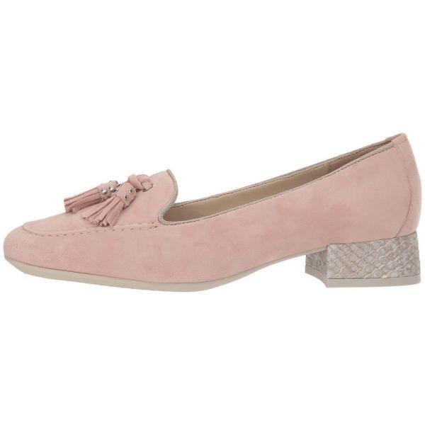 ザ フレックス The FLEXX レディース ローファー・オックスフォード シューズ・靴 Splendid Pale Pink Camoscio