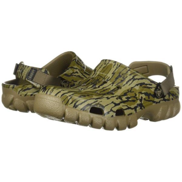 クロックス Crocs レディース クロッグ シューズ・靴 Off Road Sport Mossyoak Bottom Clog Khaki