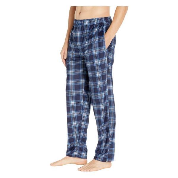 ジョッキー Jockey メンズ パジャマ・ボトムのみ インナー・下着 Silky Fleece Pants Navy|fermart2-store|02