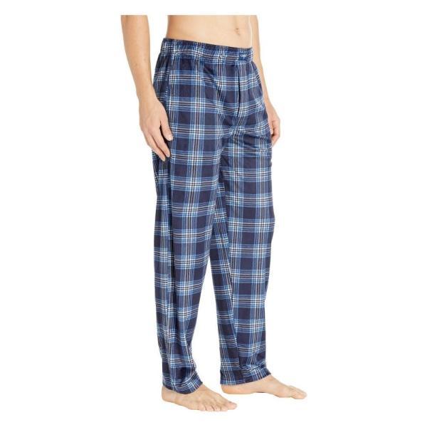 ジョッキー Jockey メンズ パジャマ・ボトムのみ インナー・下着 Silky Fleece Pants Navy|fermart2-store|04
