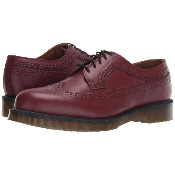 ドクターマーチン Dr. Martens レディース ローファー・オックスフォード シューズ・靴 3989 Icons Cherry Red Smooth|fermart2-store