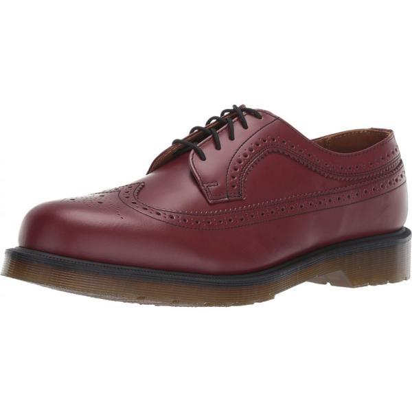 ドクターマーチン Dr. Martens レディース ローファー・オックスフォード シューズ・靴 3989 Icons Cherry Red Smooth|fermart2-store|02