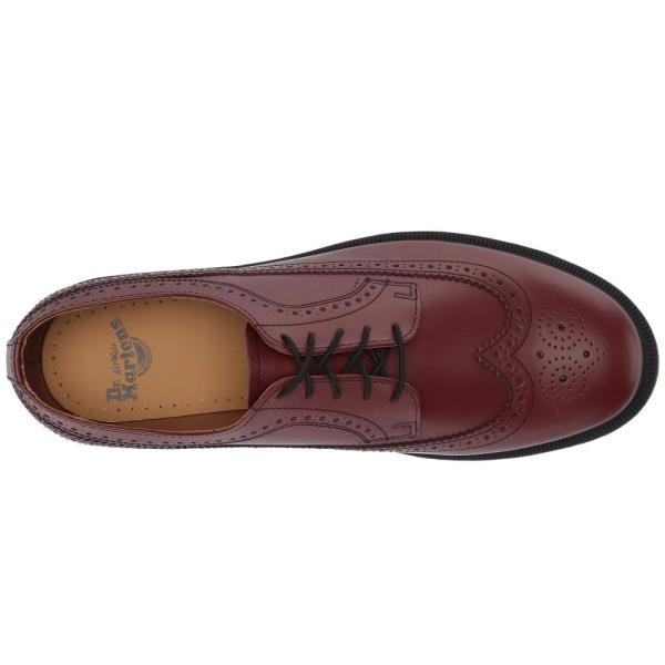ドクターマーチン Dr. Martens レディース ローファー・オックスフォード シューズ・靴 3989 Icons Cherry Red Smooth|fermart2-store|03