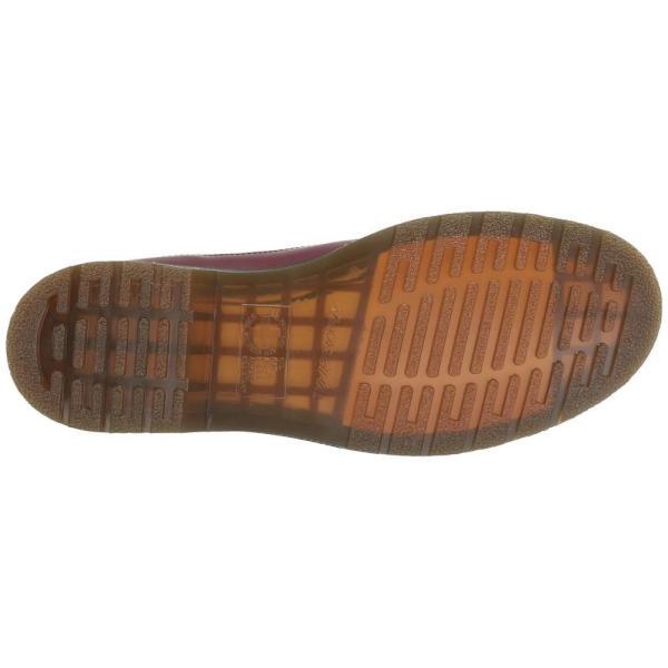 ドクターマーチン Dr. Martens レディース ローファー・オックスフォード シューズ・靴 3989 Icons Cherry Red Smooth|fermart2-store|04