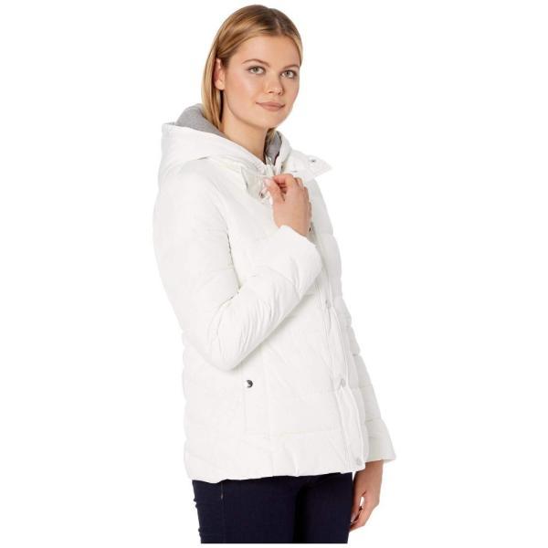 トミー ヒルフィガー Tommy Hilfiger レディース ダウン・中綿ジャケット アウター 25 sweatshirt hoodie puffer White|fermart2-store|04