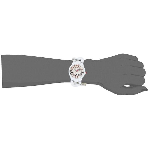 ベッツィ ジョンソン Betsey Johnson レディース 腕時計 White PC21J Idchnalloy White