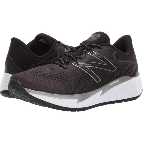 ニューバランス New Balance メンズ ランニング・ウォーキング シューズ・靴 Fresh Foam Evare Black/Dark Silver