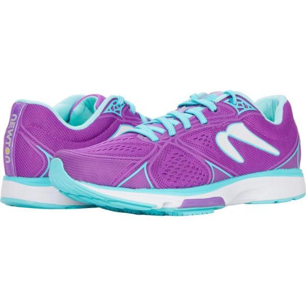 ニュートンランニング Newton Running レディース ランニング・ウォーキング シューズ・靴 Fate 6 Violet/Blue