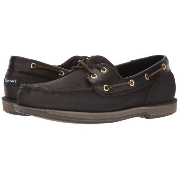 ロックポート Rockport メンズ シューズ・靴 ボートシューズ Ports of Call Perth Black/Bark|fermart2-store