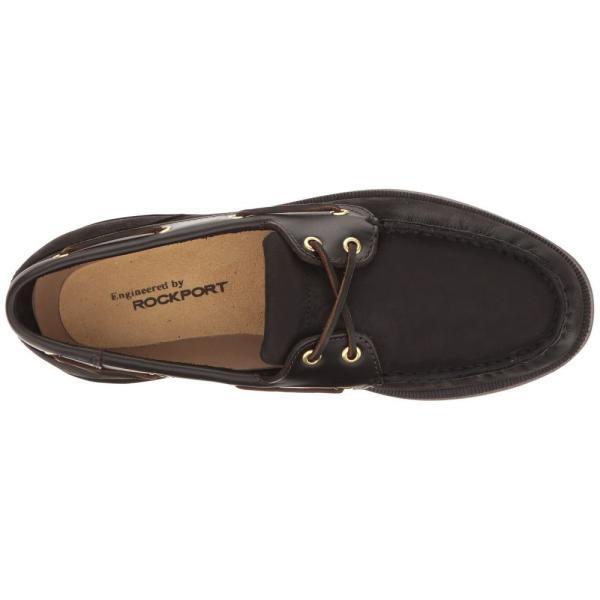 ロックポート Rockport メンズ シューズ・靴 ボートシューズ Ports of Call Perth Black/Bark|fermart2-store|03