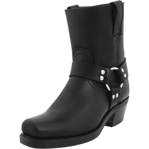 フライ レディース ブーツ シューズ・靴 Harness 8R W Black Leather