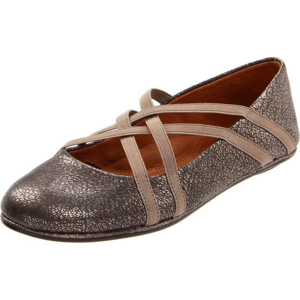 ジェントルソウル レディース スリッポン・フラット シューズ・靴 Bay Braid Antique Pewter
