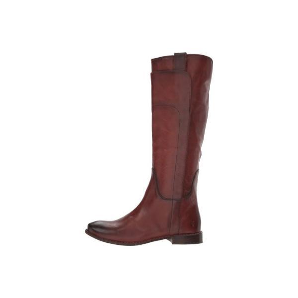 フライ レディース ブーツ シューズ・靴 Paige Tall Riding Redwood Smooth Vintage Leather