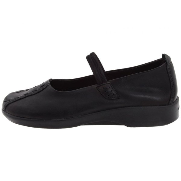 アルコペディコ レディース スリッポン・フラット シューズ・靴 Shawna Black