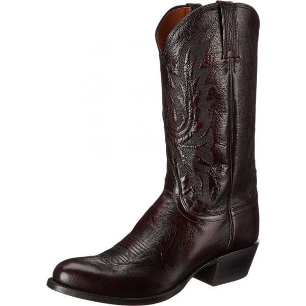 ルケーシー Lucchese メンズ ブーツ シューズ・靴 M1021.R4 Black Cherry Lonestar Calf Cowboy|fermart2-store|02