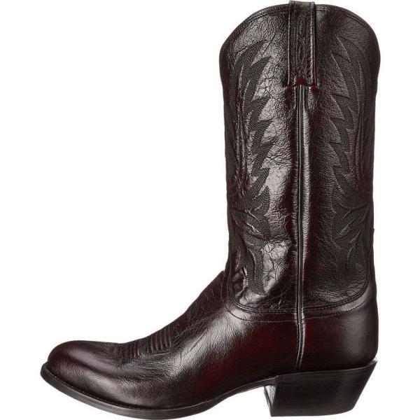 ルケーシー Lucchese メンズ ブーツ シューズ・靴 M1021.R4 Black Cherry Lonestar Calf Cowboy|fermart2-store|05