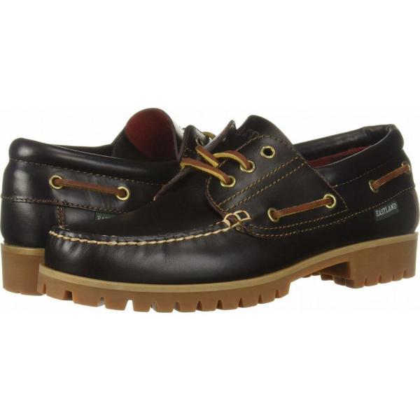 イーストランド Eastland 1955 Edition メンズ デッキシューズ シューズ・靴 Seville Burgundy Leather|fermart2-store