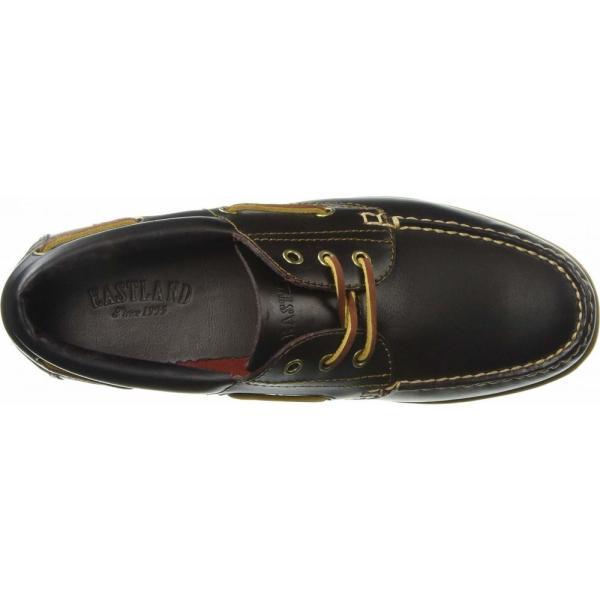 イーストランド Eastland 1955 Edition メンズ デッキシューズ シューズ・靴 Seville Burgundy Leather|fermart2-store|03