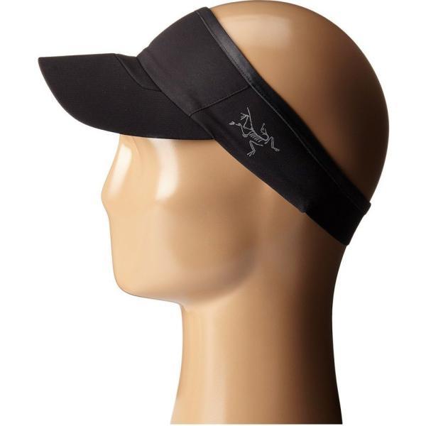 アークテリクス メンズ サンバイザー 帽子 Calvus Visor Black|fermart2-store|02
