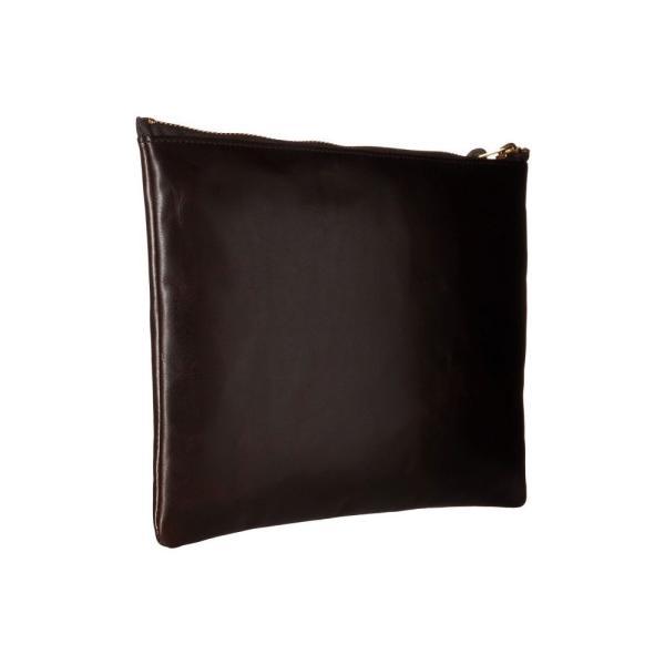 フィルソン レディース クラッチバッグ バッグ Large Leather Pouch Brown