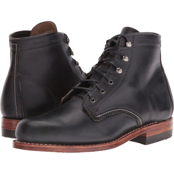 ウルヴァリン レディース ブーツ シューズ・靴 Original 1000 Mile Boot Black
