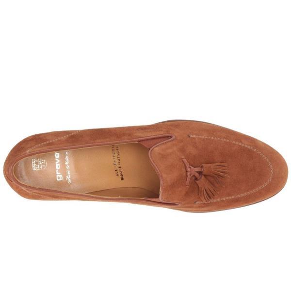 グラバティ Gravati レディース ローファー・オックスフォード シューズ・靴 Tasselled High Heel Cognac