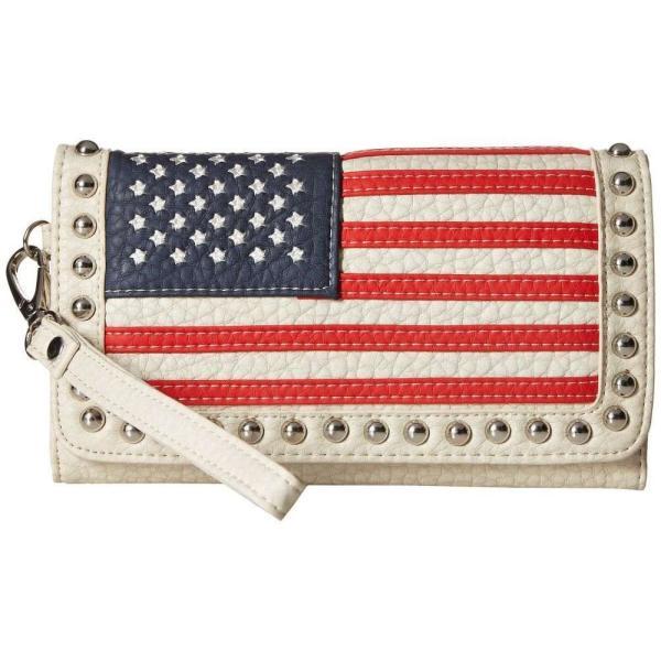エムアンドエフ ウエスタン M&F Western レディース クラッチバッグ バッグ Americana Clutch Multi
