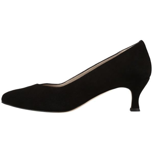 サス レディース ヒール シューズ・靴 Moxie Black Suede