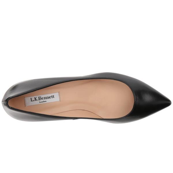 エルケーベネット L.K. Bennett レディース ヒール シューズ・靴 Audrey Black/Black Nappa Leather